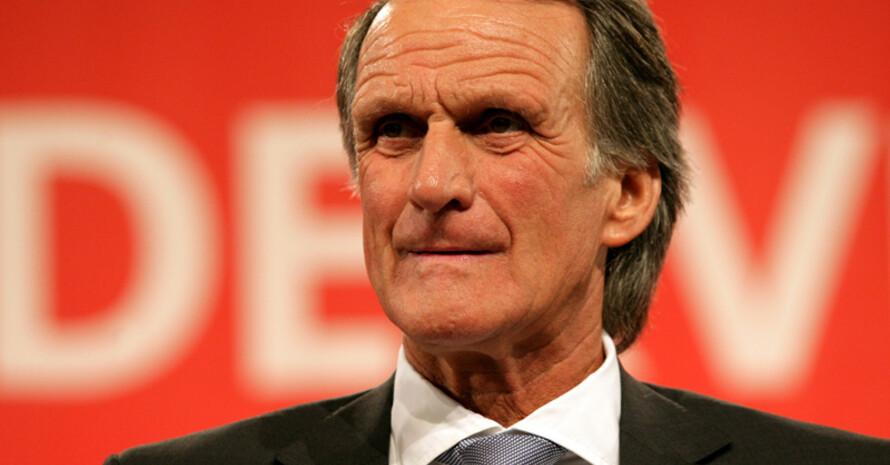 und Wolfgang Overath, Fußball-Weltmeister von 1974, sind die Botschafter der Kampagne. Fotos: picture-alliance