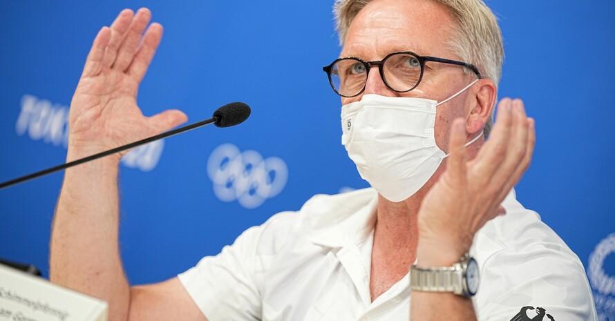 Platz fünf von Rio sei kaum zu halten, sagt Dirk Schimmelpfennig, zeigte sich aber dennoch zufrieden mit den Leistungen des Team D nach der ersten Olympia-Woche. Foto: picture-alliance