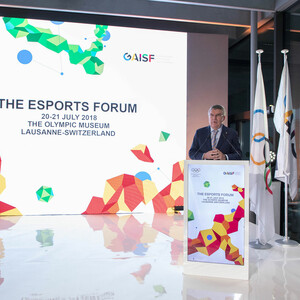 eSport-Forum in Lausanne. Foto: IOC/Greg Martin