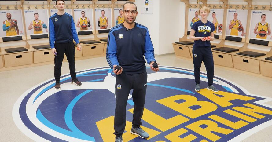 Sport macht Spaß Foto: ALBA BERLIN Basketballteam