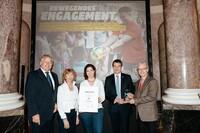 """Verleihung des Fair Play Preises des Deutschen Sports 2016 in der Sonderkategorie an """"Rio bewegt.Uns."""" Foto: picture alliance"""