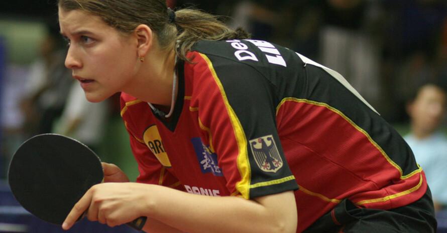 Petrissa Solja steht als erste deutsche Teilnehmerin für die Olympischen Jugendspiele in Singapur fest. Foto: DTTB/Marco Steinbrenner