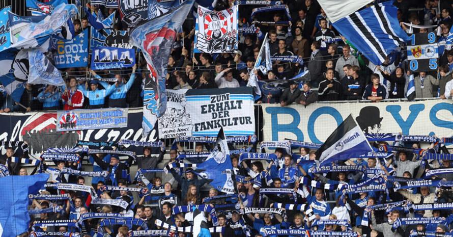 Bielefeld bietet Jugend- und Bildungsarbeit im Stadion. Foto: picture-alliance