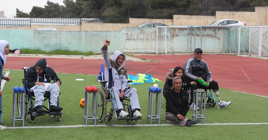 In Jordanien; Foto: GIZ