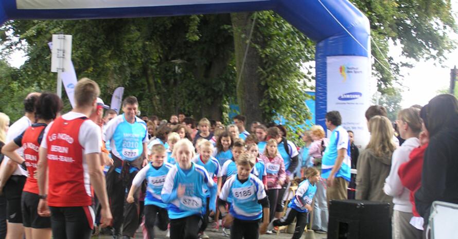 3.234 Kilometer wurden beim Charity-Run zurückgelegt. Fotos: LSB Brandenburg