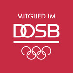 "Weißes DOSB-Logo ""Mitglied im"""