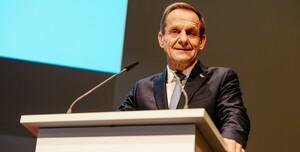 DOSB-Präsident Alfons Hörmann bedankt sich für die Unterstützung. Foto: DOSB