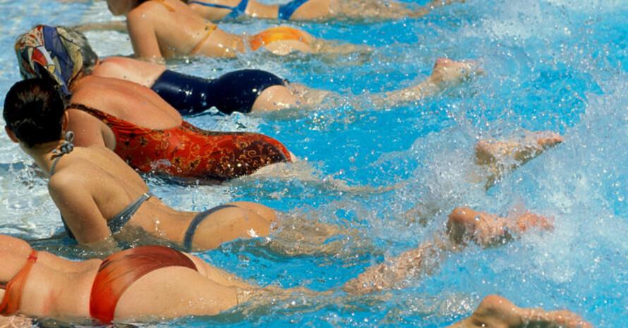 Schwimmen ist ein beliebter Sport. Copyright: picture-alliance