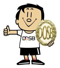Trimmy DOSB Sportabzeichen Daumen hoch Farbe rgb 300dpi