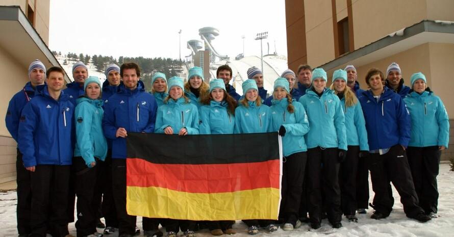 Das deutsche Team; Foto: adh