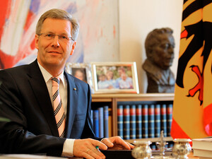 Bundespräsident Christian Wulff wird bei der Entscheidung in Durban dabei sein. Foto: Bundespräsidialamt
