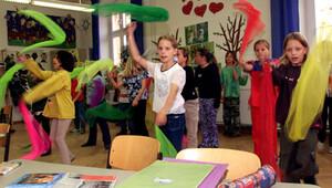 Auf der Konferenz werden Chancen für die Zusammenarbeit zwischen Schule und Verein diskutiert. COpyright: picture-alliance