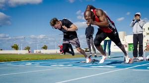Der Behindertensport und  der Nichtbehindertensport wächst zusammen. Foto: picture-alliance