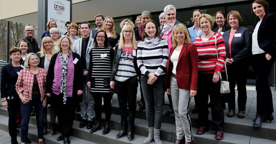 Teilnehmerinnen und Teilnehmer des Fachforums, Foto: DOSB