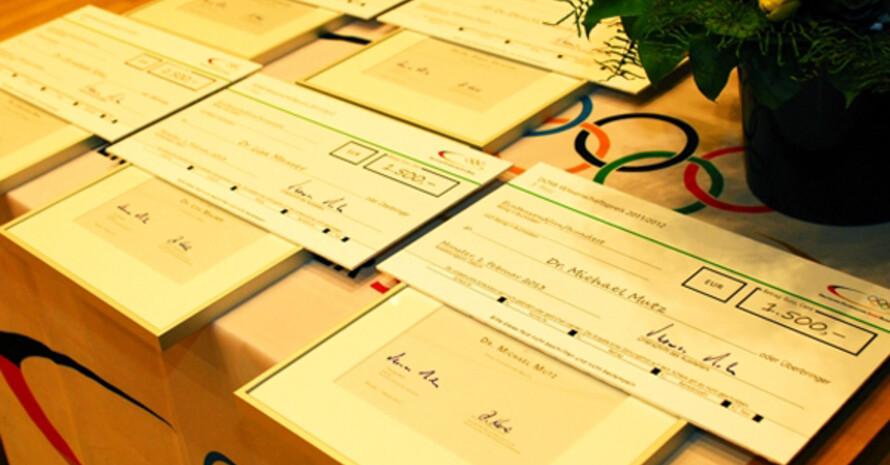 Der DOSB-Wissenschaftspreis wird alle zwei Jahre verliehen. Foto: Nils Eden