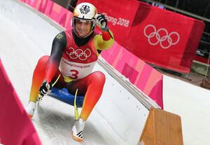 berraschungs-Medaille: Nur knapp qualifizierte sich Johannes Ludwig für PyeongChang - nun fährt er mit mindestens mit einer Bronzemedaille nach Hause (Foto: Picture Alliance)