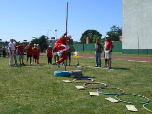 Die Veranstaltung Mini-Atletismo erfreut sich in Südamerika großer Beliebtheit.