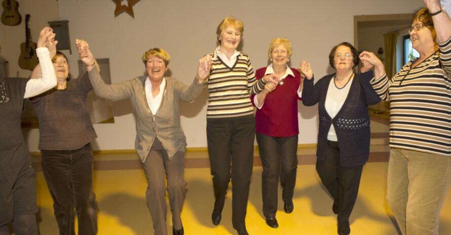 Ältere Menschen für das Ehrenamt gewinnen ist Ziel des Projektes. Foto: LSB NRW