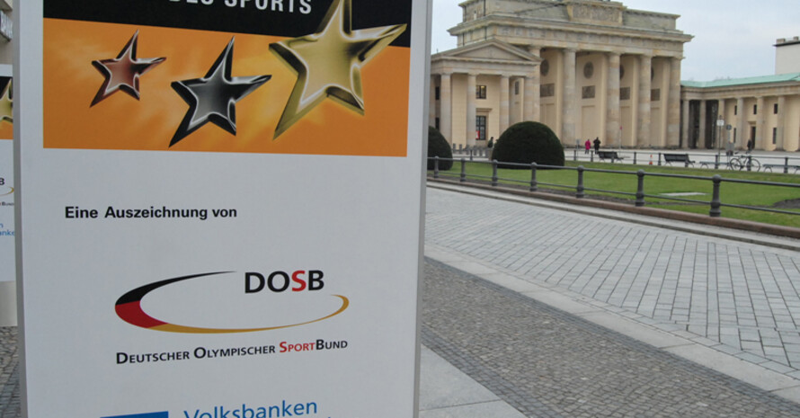 Die Sterne des Sports werden von der TAFISA mit dem Innovationspreis ausgezeichnet. Foto: DOSB