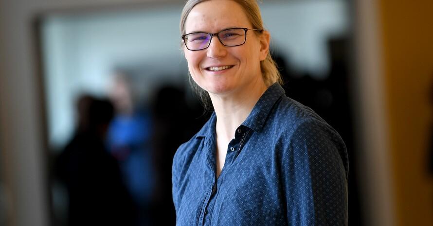 Jenny Wolf koordiniert die Themen Bildung und Wissenschaft bei Special Olympics Deutschland. Foto: picture-alliance