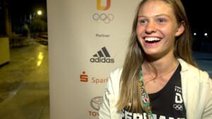 Jugend-Olympiasiegerin Leni Wildgrube. Foto: DOSB
