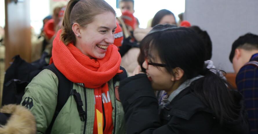 Gemeinsam etwas erleben. Deutsche und koreanische Jugendliche im Austausch. (Foto: DOA)