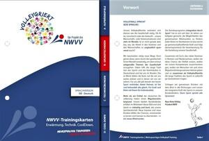 Mehrsprachige Trainingskarten des Nordwestdeutschen Volleyball-Verbands