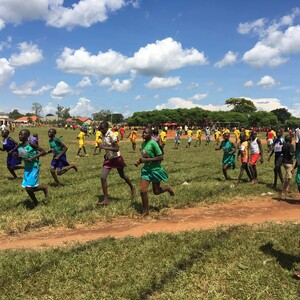 Athletics for Development in Uganda © DOSB