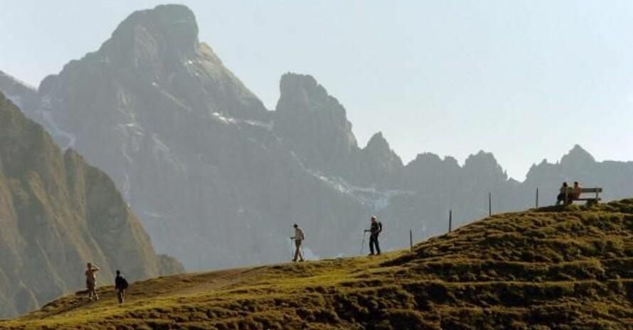 Wandern im Herbst. Foto: picture-alliance