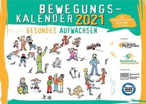 Titelblatt des dsj-Bewegungskalenders 2021; Foto: dsj