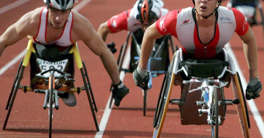 Auch Menschen mit Behinderung können das Deutsche Sportabzeichen machen. Foto: picture-alliance