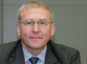 DOSB-Generaldirektor Michael Vesper sprach dem Sportausschuss sein Lob aus.