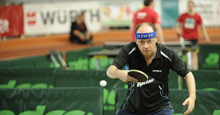 Hartmut Freund ist einziger aktiver Teilnehmer aus Deutschland bei den Global Games in Ecuador. Foto: privat