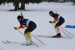 Linda Schumacher (r.) und Lara Dellit (l.) im Kampf um den Einzug ins Halbfinale. Foto: DOSB
