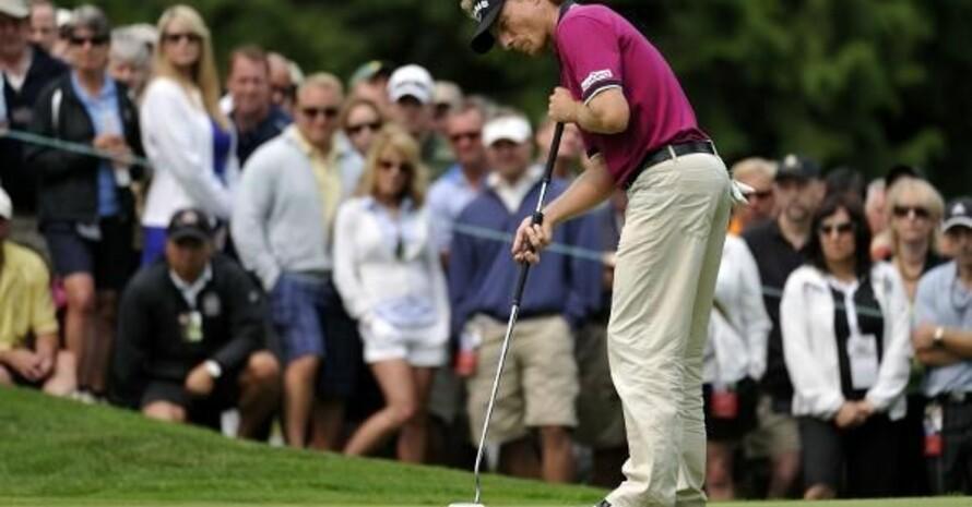 Selbst unser erfolgreichster Golfer Bernhard Langer konnte die deutsche Bewerbung um den Ryder Cup 2018 nicht einlochen. Foto: picture-alliance