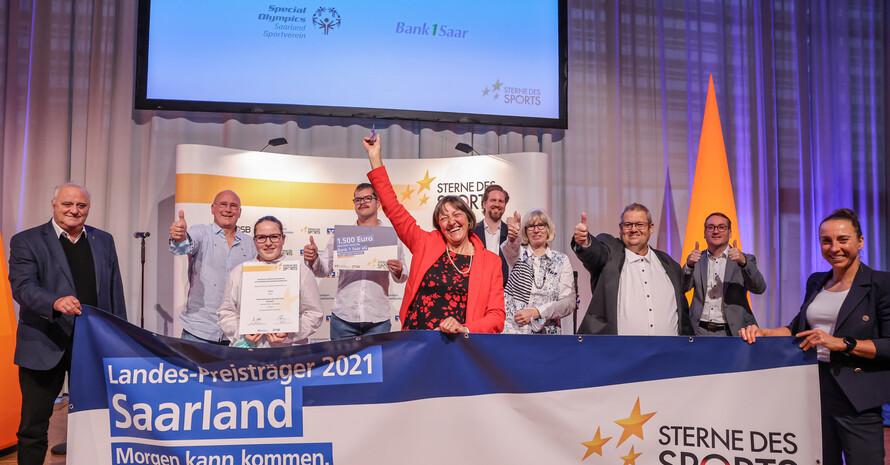 2. Platz Special Olympics Saarland e.V. Foto: Fotostudio Franz Fender