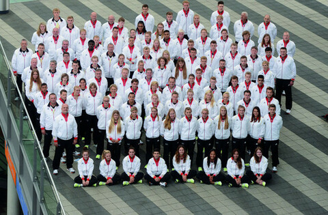 Die Deutsche Jugend-Olympiamannschaft reist mit 84 Athletinnen und Athleten (39 Männer / 45 Frauen) nach Nanjing (China). Foto: Hase/picture-alliance/DOSB