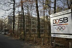 Blick auf die DOSB-Geschäftsstelle. Foto: DOSB