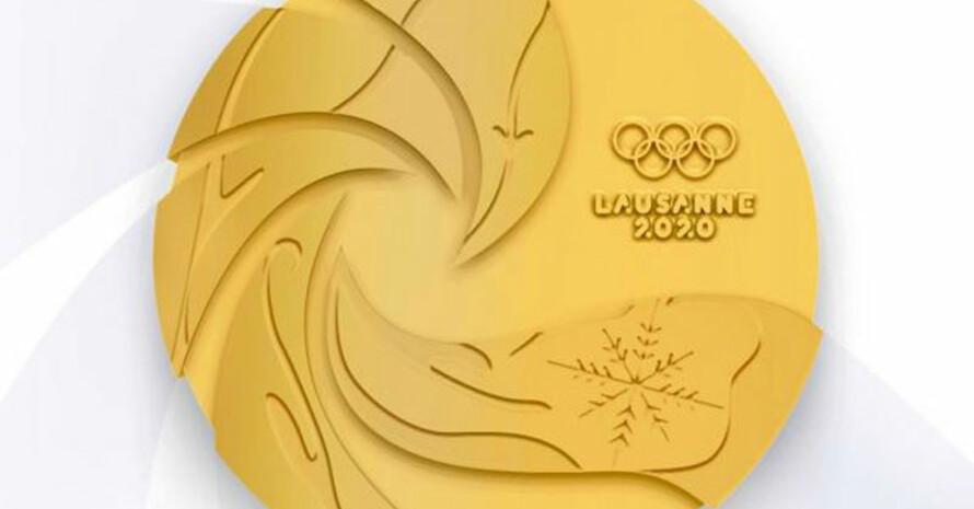 Die Medaille für Lausanne 2020 nach einem Entwurf von Zakea Page. Foto: IOC