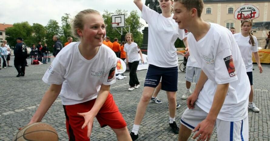 Sport in der Stadt. Copyright: picture alliance