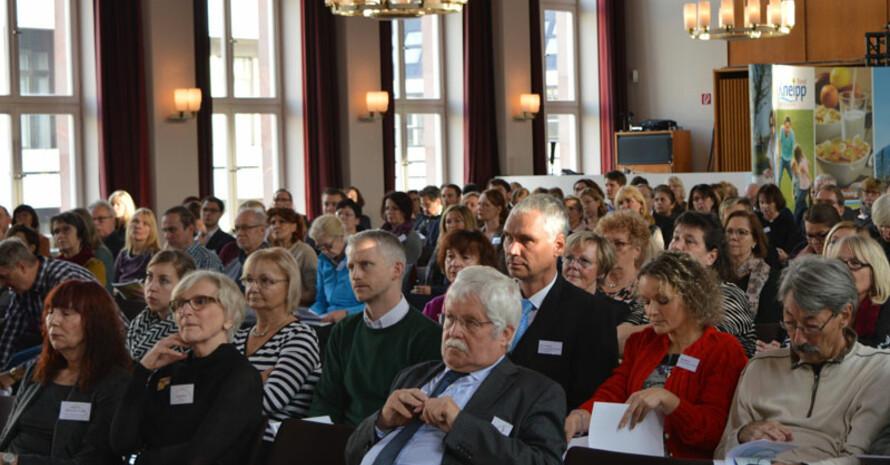 Teilnehmerinnen und Teilnehmer des Kongresses in Berlin. Foto: Kneipp-Bund
