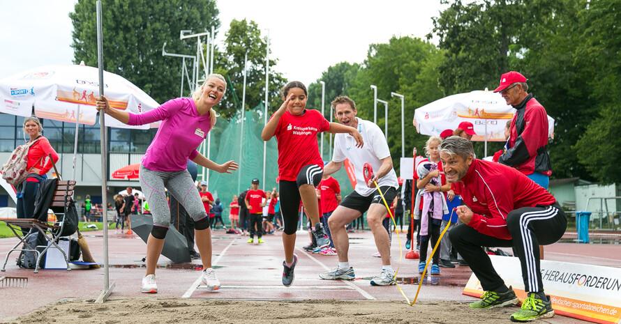 Höller, Busemann und Schönfelder, drei Coaches in ihrem Element (Foto: DOSB/Treudis Naß)