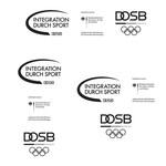Graustufenversion der Composite-Logos IdS/BMI/DOSB – Komplettpaket