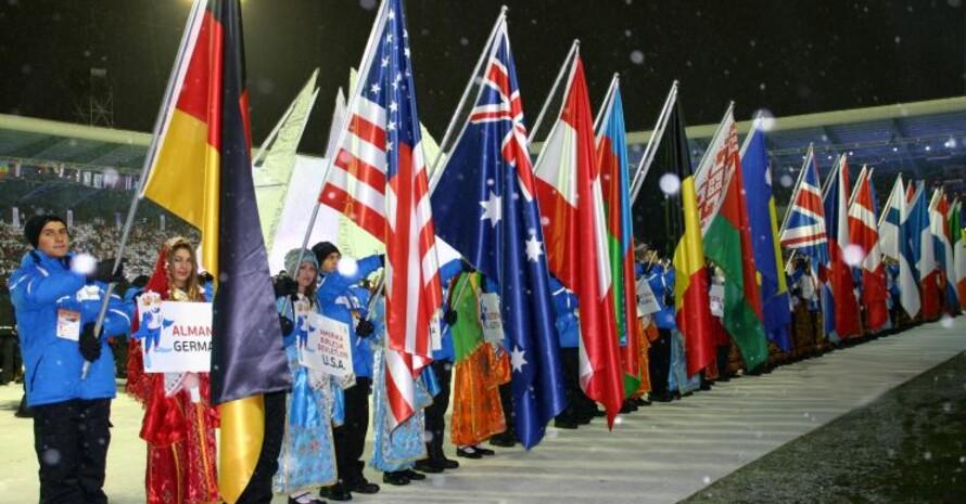 Einmarsch der Nationen; Foto: adh