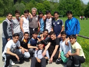 Die Cricketspieler des SV Wacker Burghausen. Foto: SV Wacker