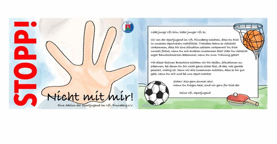 Stopp - nicht mit mir! Foto: VfL Pinneberg