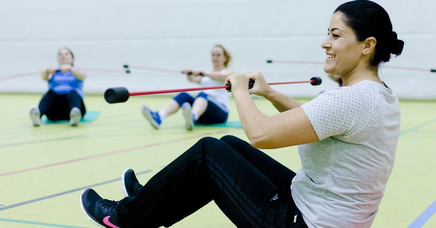 Fitness zu Hause - unsere Stützpunktvereine geben Anleitung und stellen bedarfsgerechte Videos zur Vefügung; Foto: HSB/Frank Molter Fotografie
