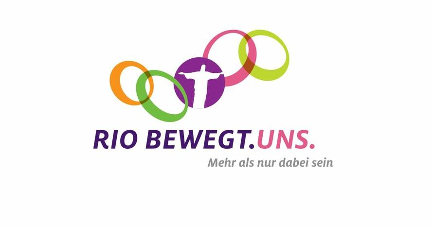 """Das Bündnis """"Rio bewegt. Uns"""" wird mit dem Sonderpreis ausgezeichnet. Logo:  Hilfswerk Adveniat"""