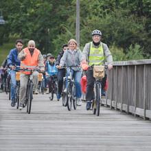 Radfahren vereint