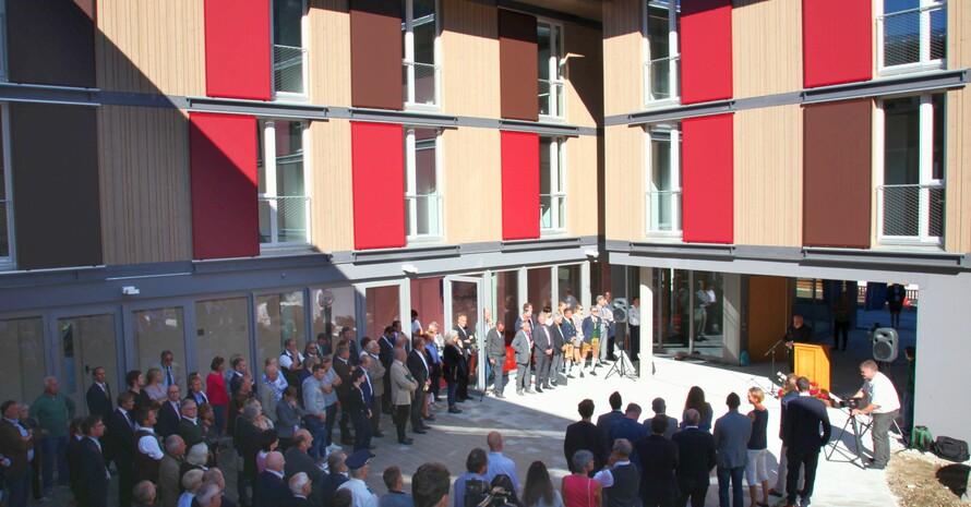 Eröffnung des Internatsgebäudes an der Christopherusschule in Berchtesgaden; Foto: CJD Berchtesgaden
